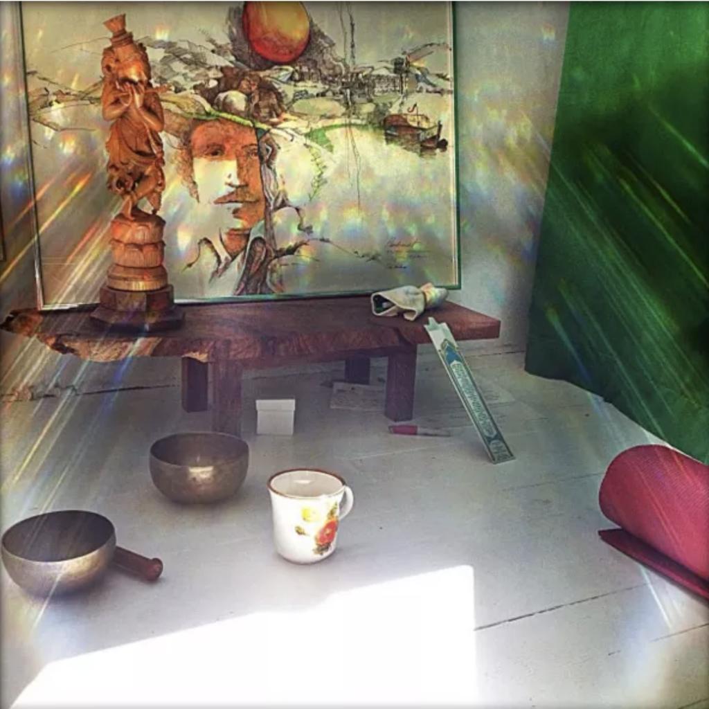 sensor sol meditacion decoracion