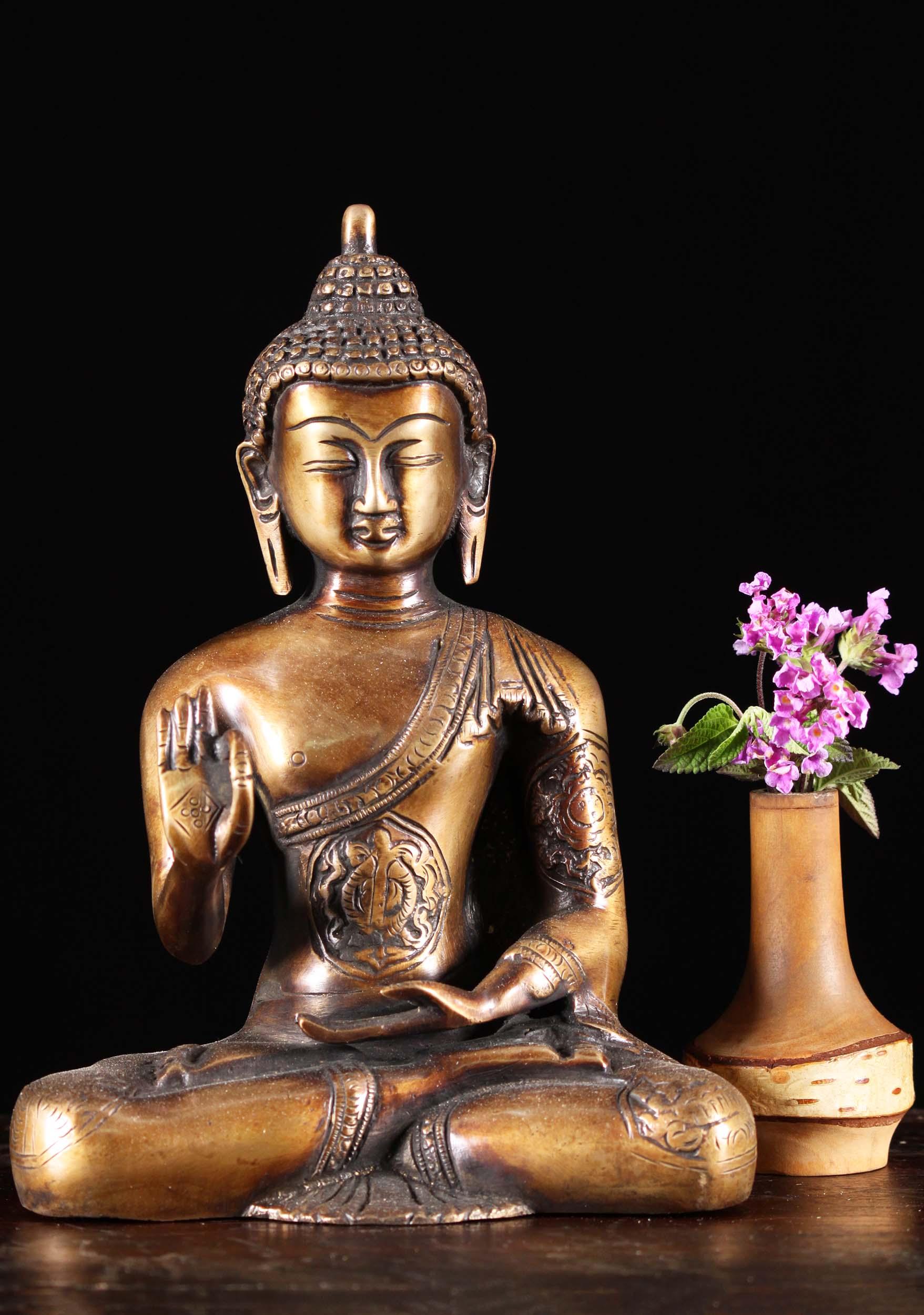 Vitarka mudra Buda