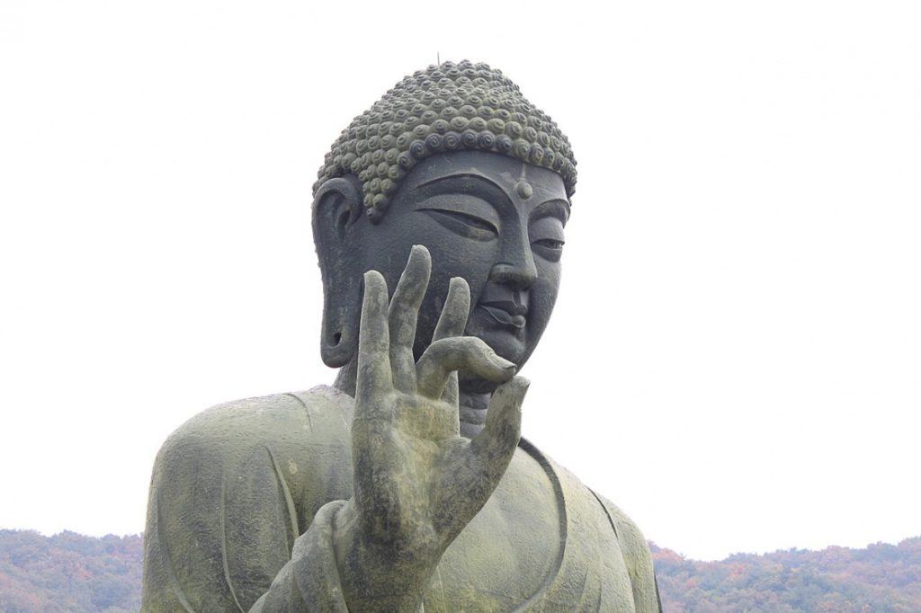 Karana Mudra Buda