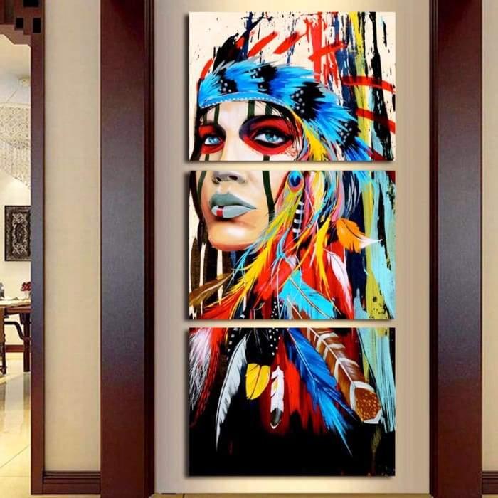 cultura amerindia pintura