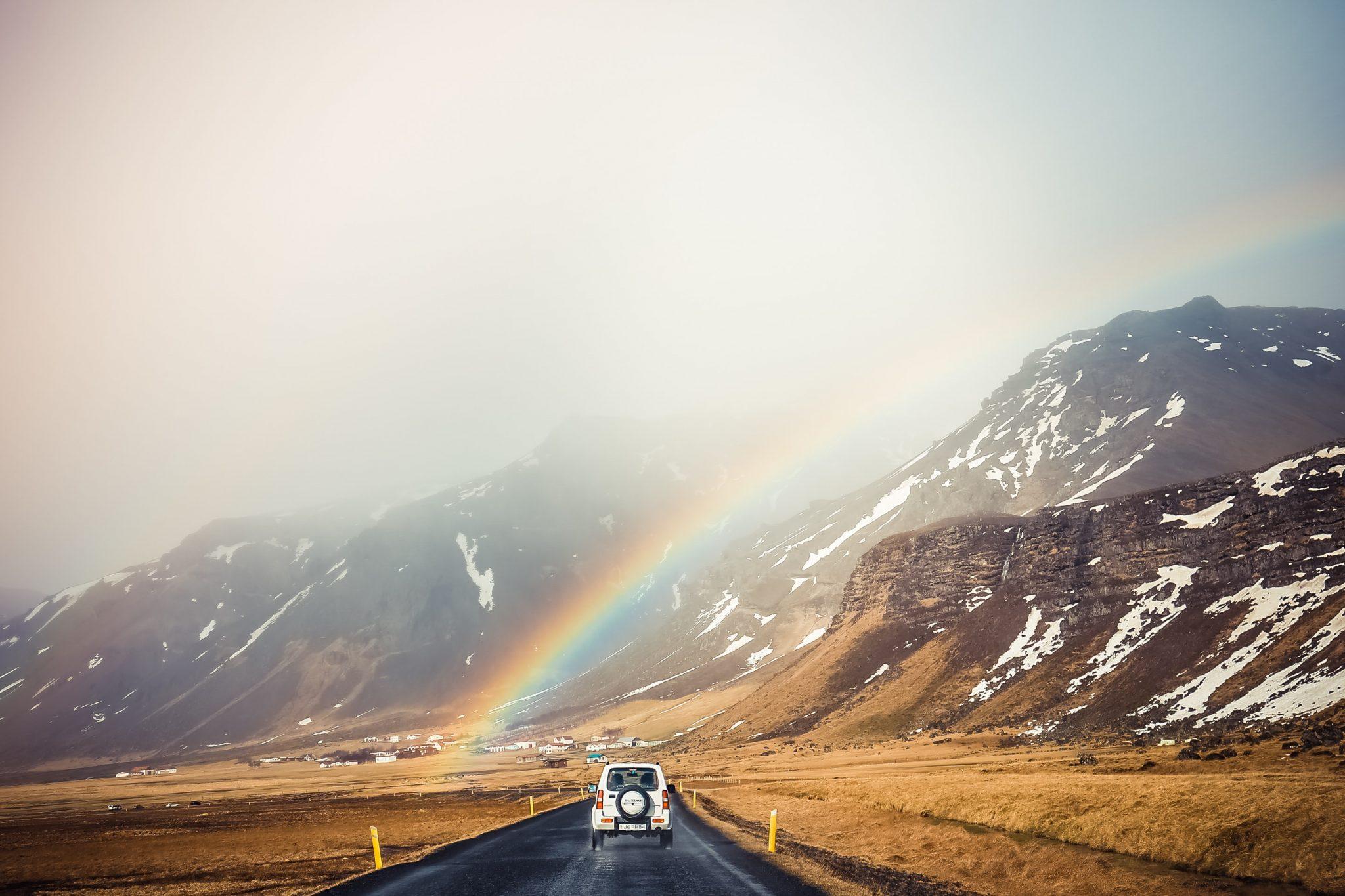 suerte arcoíris símbolo