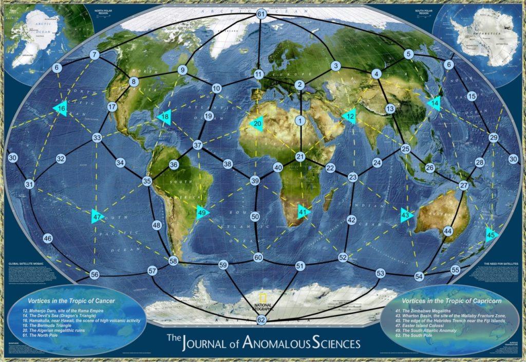 anomalies scientifiques chakras de la terre