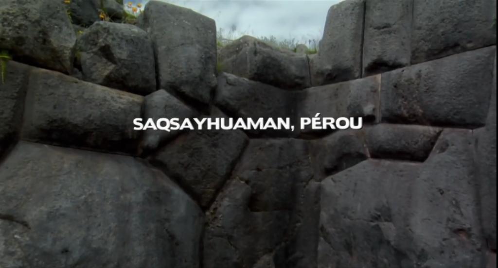 Les fameuses murailles de Saqsayhuaman au Pérou