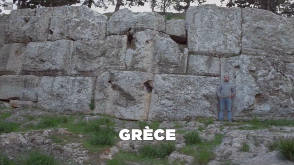 """En Grèce on retrouve encore ces """"pierres imbriquées"""""""