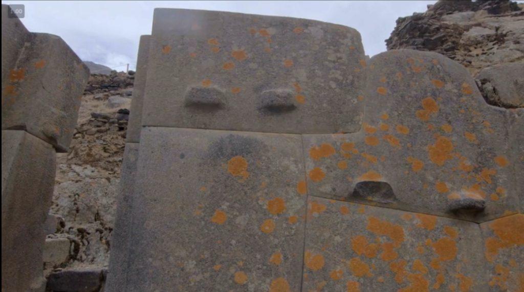 """On croirait qu'ils """"moulent"""" les pierres, c'est d'ailleurs une des théories."""