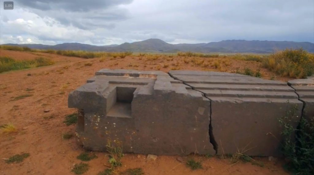 Lac titicaca et le site du puma punku
