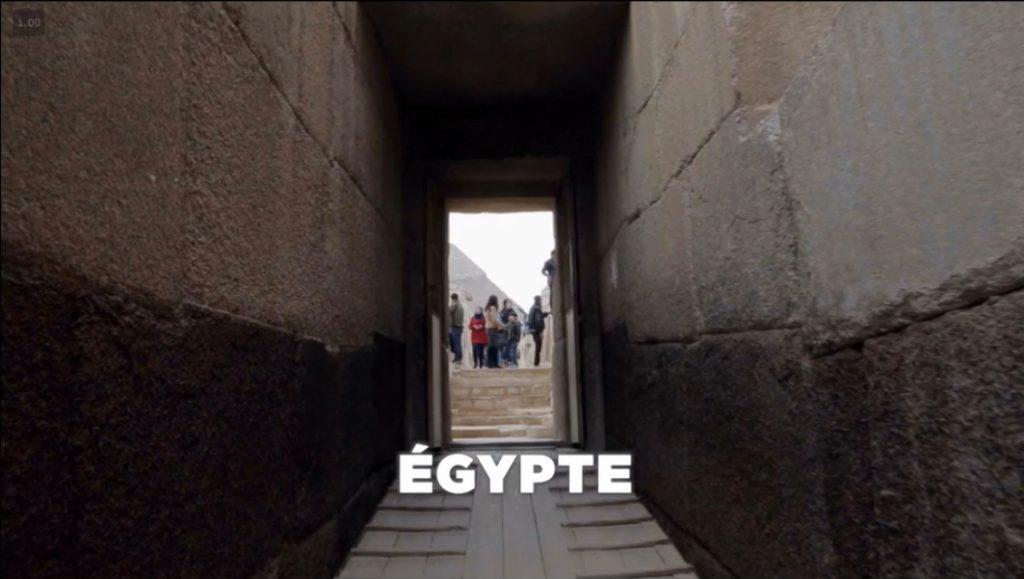 constructions symétriques de par et d'autres en égypte
