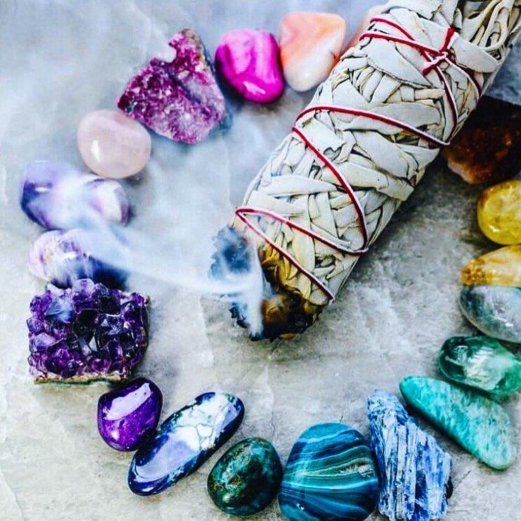 l'encens pour recharger et purifier ses pierres