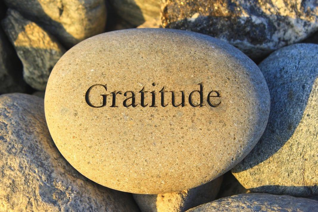 la majorité des gens manquent cruellement de gratitude, et vous ?