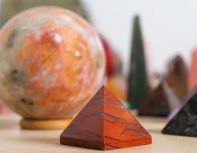 différentes formes de pierres