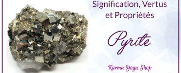 guide des vertus et propriétés de la pyrite