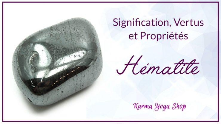 hematite vertus