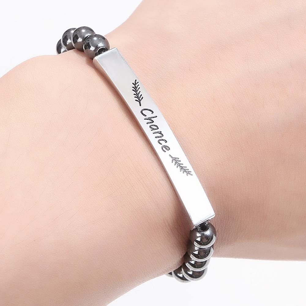 bracelet affirmation chance